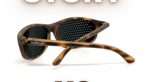 Due paia di occhiali VisionLight story