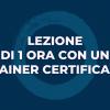 Lezione di 1 ora con uno dei nostri Trainers certificati